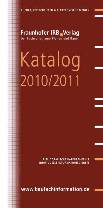 Katalog - Fachbuch-Journal