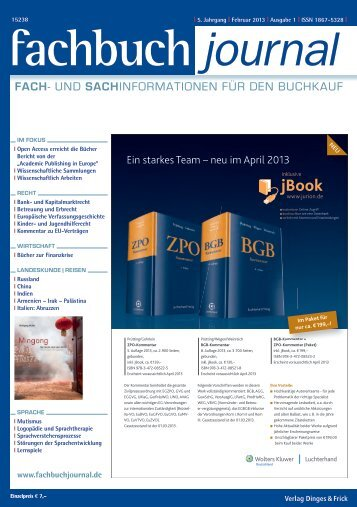 PDF (12.3 MB) - Fachbuch-Journal