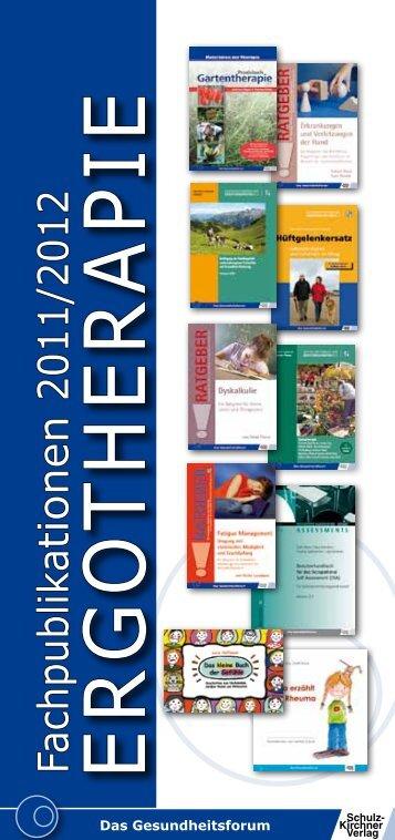 E r g o t h E r a p iE - Fachbuch-Journal