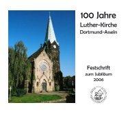 die Stiftung Luther-Kirche - Kirchengemeinde Asseln