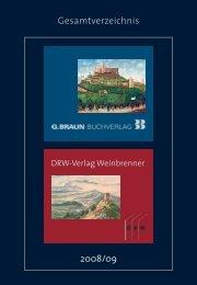Gesamtverzeichnis 2008/09 - Fachbuchquelle