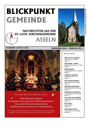 Blickpunkt gemeinde Nr. 118 - Kirchengemeinde Asseln