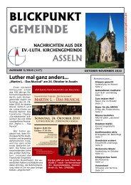 BLICKPUNKT GEMEINDE - Kirchengemeinde Asseln