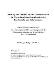 Dokumentation des Workshops - Fachdokumente Online - Baden ...