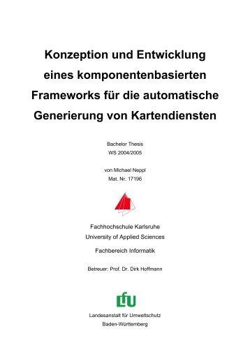Konzeption und Entwicklung eines komponentenbasierten - Baden ...