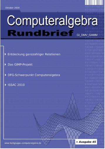 Mathematica - Fachgruppe Computeralgebra