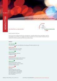Newsletter (Download Pdf) April 2013 - Fachhochschulen in NRW