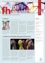 Journal 01/2013 (Download Pdf) - Fachhochschulen in NRW