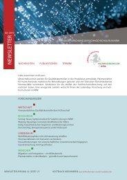 N EWSLETTER - Fachhochschulen in NRW
