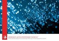 """workshop """"gutachtertätigkeit in der eu"""" - Fachhochschulen in NRW"""