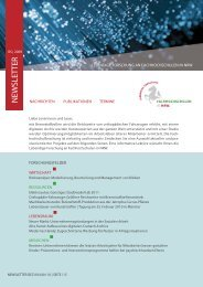 NEWSLETTER - Fachhochschulen in NRW