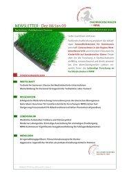 NEWSLETTER | Dez 08/Jan 09 - Fachhochschulen in NRW