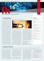 Journal 2009 (PDF) - Fachhochschulen in NRW