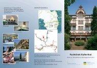 Flyer (PDF) - Fachklinik Eußerthal