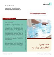 Gemeinsam für Ihre Gesundheit - MediClin Fachklinik Rhein-Ruhr