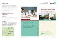 Tagsüber Reha – abends Dialyse - MediClin Fachklinik Rhein-Ruhr