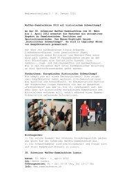 Medienmitteilung 2 / 16. Januar 2012 Waffen-Sammlerbörse 2012 ...