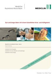 Download PDF - MediClin Fachklinik Rhein-Ruhr