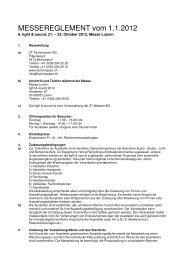 Reglement 2012