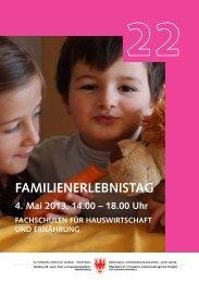 Familienerlebnistag - Fachschule für Land- und Hauswirtschaft Salern