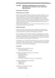 Lernfeld - Fachschule Heilerziehungspflege