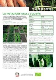 foglio informativo: rotazione delle culture - Fachschule für Land- und ...