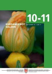 Weiterbildungsbroschüre Salern 10.indd - Fachschule für Land- und ...