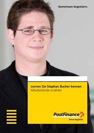 Lernen Sie Stephan Bucher kennen - Mitarbeitende erzählen