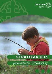 J-SP:n strategia 2016 - Järvi-Suomen Partiolaiset