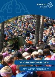 Järvi-Suomen Partiolaiset ry VUOSIKERTOMUS 2009