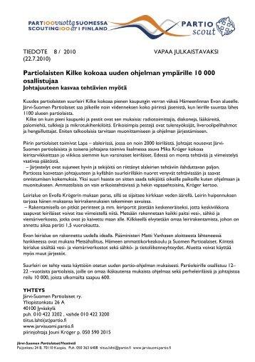Partiolaisten Kilke kokoaa uuden ohjelman ympärille 10 000 ...