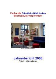 Aus den Bibliotheken - Fachstelle der Öffentlichen Bibliotheken in ...