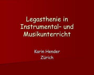 Legasthenie im Musik