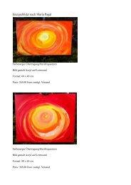 Energiebilder nach Maria Pagal