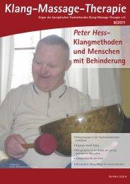 Peter Hess - Fachverband Klang-Massage-Therapie eV