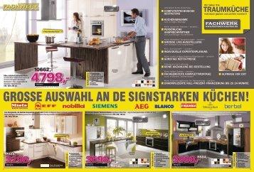 TRAUMKÜCHE - Fachwerk Küchen