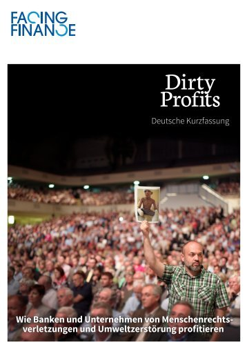 Dirty Profits - Facing Finance