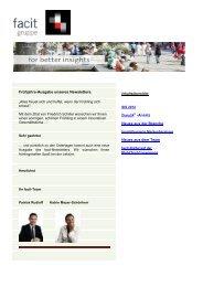 facit-Newsletter 6. Ausgabe April 2012