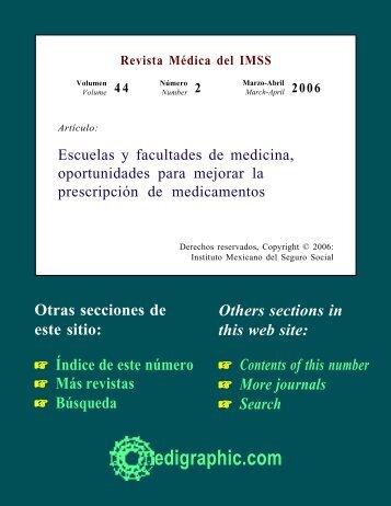 Escuelas y facultades de medicina, oportunidades ... - edigraphic.com