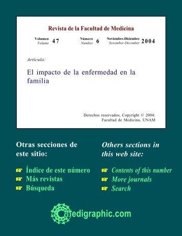 El impacto de la enfermedad en la familia - edigraphic.com