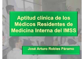Aptitud clínica de los clínica de los Aptitud clínica de los clínica de ...