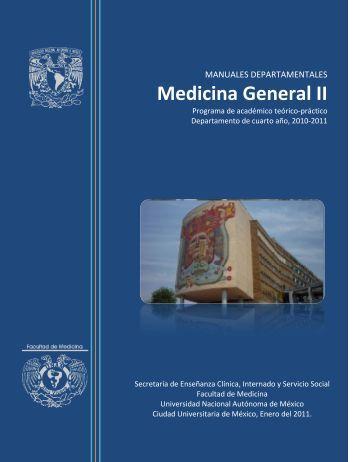 Programa Académico Teórico Práctico - Facultad de Medicina - UNAM