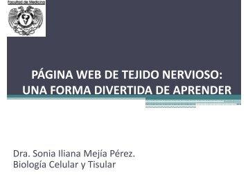 PÁGINA WEB DE TEJIDO NERVIOSO: UNA FORMA ... - UNAM