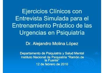 Ejercicios Clínicos con Entrevista Simulada para el Entrenamiento ...