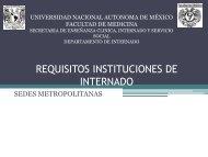 Requisitos de Inscripción Sedes Internado Médico 2013