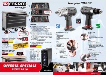 offerta speciale estate 2010 - Facom