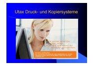 Utax Druck- und Kopiersysteme - Facora AG