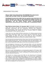 PRESSEMITTEILUNG - Factbook