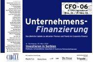 Finanzierung - Factbook
