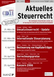 Umsatzsteuerrecht - Update Internationale ... - Factbook